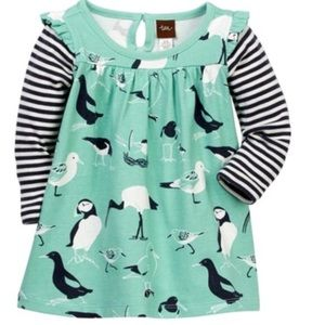 Tea Collection Dresses - NWT Tea Collection Seabirds Mighty Mini Dress